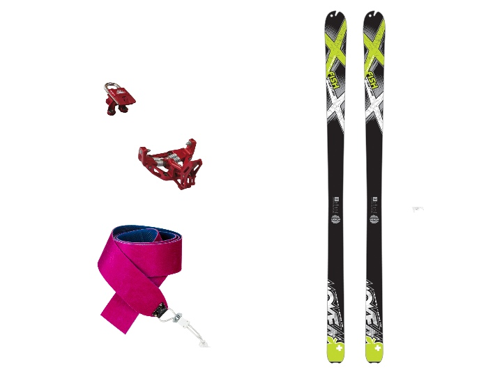 PACK ESQUI FISH + LOW TECH+ PELLS  1150€