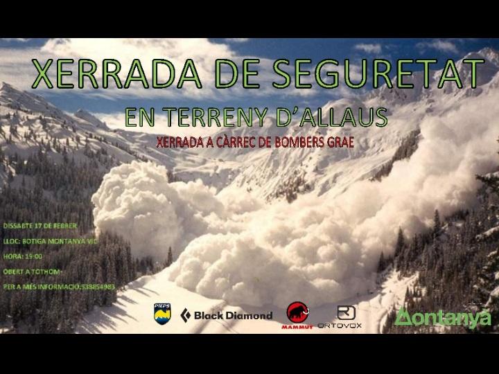 XERRADA DE SEGURETAT EN TERRENY D'ALLAUS