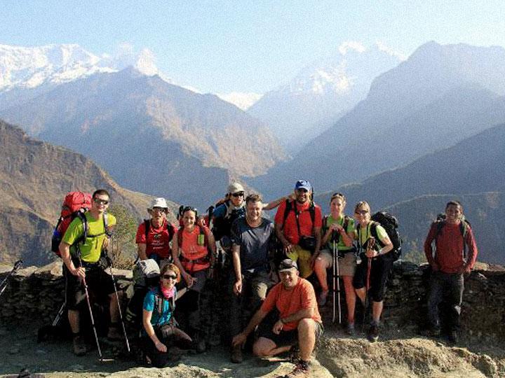 Torelló 8.0 ja es troba a l'equador del trekking